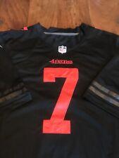 San Francisco 49ers Colour Rush Black Colin Kaepernick jersey XL