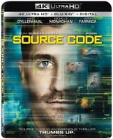 Source Code [New 4K UHD Blu-ray] With DVD, 2 Pack