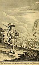 Captain Henry Morgan Pirata Bucaneer Panamá 1671 Privateer 7x4 pulgadas impresión