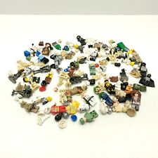 Lot Of Lego People Robot Hats Hair Over 150 pieces Miniature Figurines Star Wars