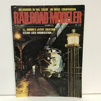 Railroad Modeler Magazine Back Issue December 1971 E.L. Moore Cabbage Plant HI