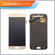 Gold For Samsung Galaxy S7 G930 G930A LCD Touch Replace Digitizer Assembly US