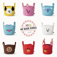 BT21 Character String Storage Bag Tote Shopping Bag 7types Authentic K-POP Goods