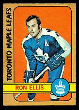 1972 73 OPC O PEE CHEE #36 RON ELLIS EX-NM TORONTO MAPLE LEAFS HOCKEY CARD