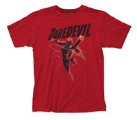 Daredevil Attacks Mens Adult Unisex T-shirt -available sm to 2x
