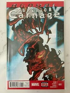 Superior Carnage Annual #1 2014 1st Appearance of She-Carnage Marvel NM
