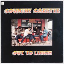 COUNTRY GAZETTE: Out to Lunch USA Flying Fish Bluegrass Vinyl LP