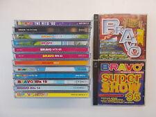 14x CD-Sammlung - BRAVO HITS - Nr. 13+14+19+26+28+61+63+65+66+74... Doppel-CD