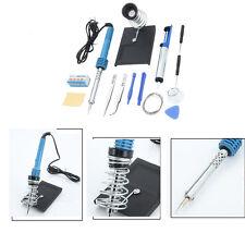 14in1 Electric Soldering Iron Tool Tweezers Kit 110V 60W Welding Stick Welder