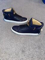 Men's Buscemi 100MM Push Alce Oceano/White Sneakers - Size 45 - Brand New + Box!