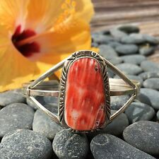 Spiny Oyster Sterling Silver Cuff | Boho | Native American | Silver Cuffs
