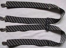 Braces Suspenders Mens Vintage CLIP ON STOCKBROKER