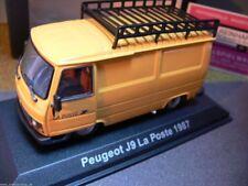 """1/43 norev peugeot j9 1967 """"la poste"""" amarillo 472104"""