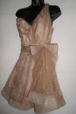 NEW ABS by Allen Schwartz bow dress UK12 RRP £225