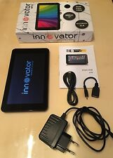 "Tablet 7"" innovator A712 dual core android 4.4 in box (Black)"
