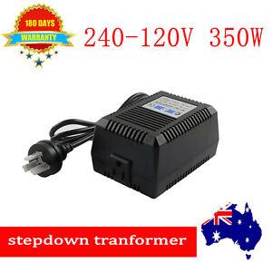 350W Sinewave Step Down Transformer Electric Voltage Converter 240V to 120V