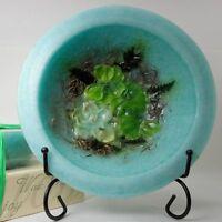 NEW Habersham Wax Pottery Bowl Gardenia Water Lilly Flameless Candle