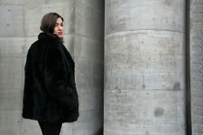 Crimlin Pelzimitat Jacke DDR Quintett Moden 80er True Vintage Damenjacke coat