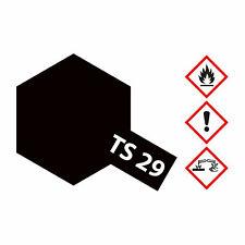 (8,23€/100ml) Tamiya TS-29 Schwarz seidenmatt 100ml Sprayfarbe Kunstharz 3000850