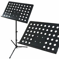 BRAND NEW ~ Sheet Music CONDUCTOR Stand Sheet Metal Tripod Holder Folding Stage