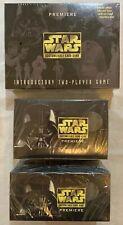 1995 Star Wars Decipher CCG Premiere ULTIMATE Sealed 3 Box Bundle!