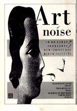 "3/10/87pg6 Album Advert 7x5"" Art Of Noise, In No Sense Nonsense"