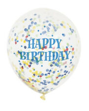 Luftballons mit Konfetti - Happy Birthday