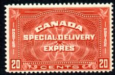 Canada 1932 Special Delivery 20c Brown-Red SG S7 Mounted Mint