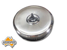 CHROME AIR CLEANER DGV Weber down draft cortina escort carburettor 9 inch