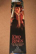 LORD OF THE RINGS Original FRODO DOOR PANEL Movie Poster JJR TOLKIEN ELIJAH WOOD