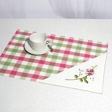 Stickpackung Platzdeckchen Set Deckchen ROSEN, ca. 35x50 cm sticken Handarbeiten