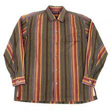 ISSEY MIYAKE MEN Cotton Stripe Shirt Size 2(K-44100)