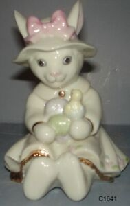 Lenox Easter Darling Bunny with Eggs New in Box COA