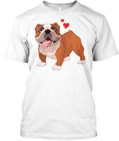 English Bulldog Cute Hanes Tagless Tee T-Shirt