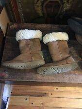 UGGS AUTHENTIC CLASSIC CHESTNUT AUSTRALIA SUEDE SHEEPSKIN BOOTS 5229 Y USA 5