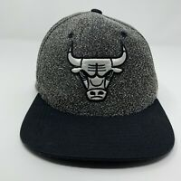 Mitchell & Ness Chicago Bulls NBA Basketball Snapback Hat Cap Popcorn Black