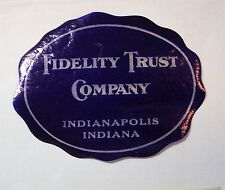 Cinderella* 1938 DIE CUT  FIDELITY TRUST CO.  INDIANAPOLIS, IND    mh
