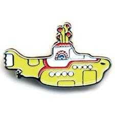 OFFICIAL LICENSED - THE BEATLES - YELLOW SUBMARINE METAL PIN BADGE LENNON