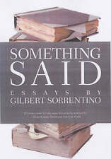 NEW Something Said (American Literature (Dalkey Archive)) by Gilbert Sorrentino