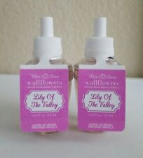 2 Bath & Body Works Wallflower Diffuser Refill Bulb Lily of The Valley