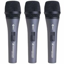 Sennheiser e835 S Live Vocal Microphone with On/Off Switch - 3-pack New 2day del