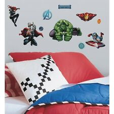New AVENGERS ASSEMBLE Marvel Superheroes 28 Wall Decals Boys Room DecorStickers