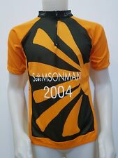 MAGLIA SHIRT CICLISMO SAMSONMAN '04 SALZBURG TG.M BIKE TOUR GIRO CYCLING ES913
