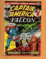 Captain America #157 Falcon Jan 1973  VG+