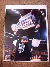 Dwight King Autographed 8x10 photo LA Kings Lethbridge Hurricanes Canada