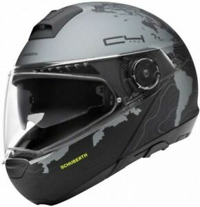 SCHUBERTH C4 PRO MAGNITUDO BLACK FLIP MOTORCYCLE HELMET - 2X-LARGE