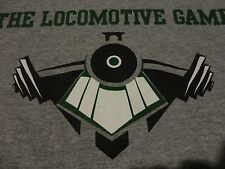 LOCOMOTIVE GAMES Younstown Ohio Team Fitness Athlete EVENT Gray T Shirt size XL