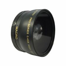 Wide Angle Macro Lens for Nikon D5500 D3300 D5200 52mm dx vr landscape travel