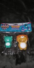 *NEW* Soft'n Slo Squishies Teal Bear Cutiez With Tan Lion Costume Series 1