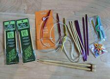 Takumi Clover Bamboo and Boye Circular Knitting Needles